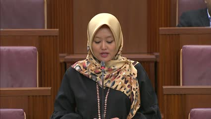 Rahayu Mahzam on Home Team Science and Technology Agency Bill