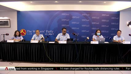 GE2020: Workers' Party introduces 5 more prospective candidates, to launch manifesto this weekend | Video