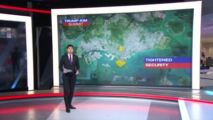 Expect heightened security measures at Trump-Kim summit venues: Singapore police | Video