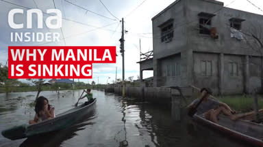 Why Manila is sinking
