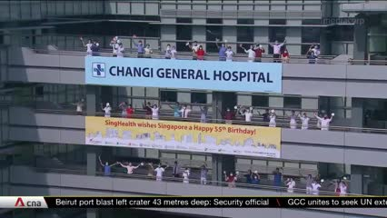 NDP 2020: Large crowds as Red Lions, mobile column come to the heartlands   Video