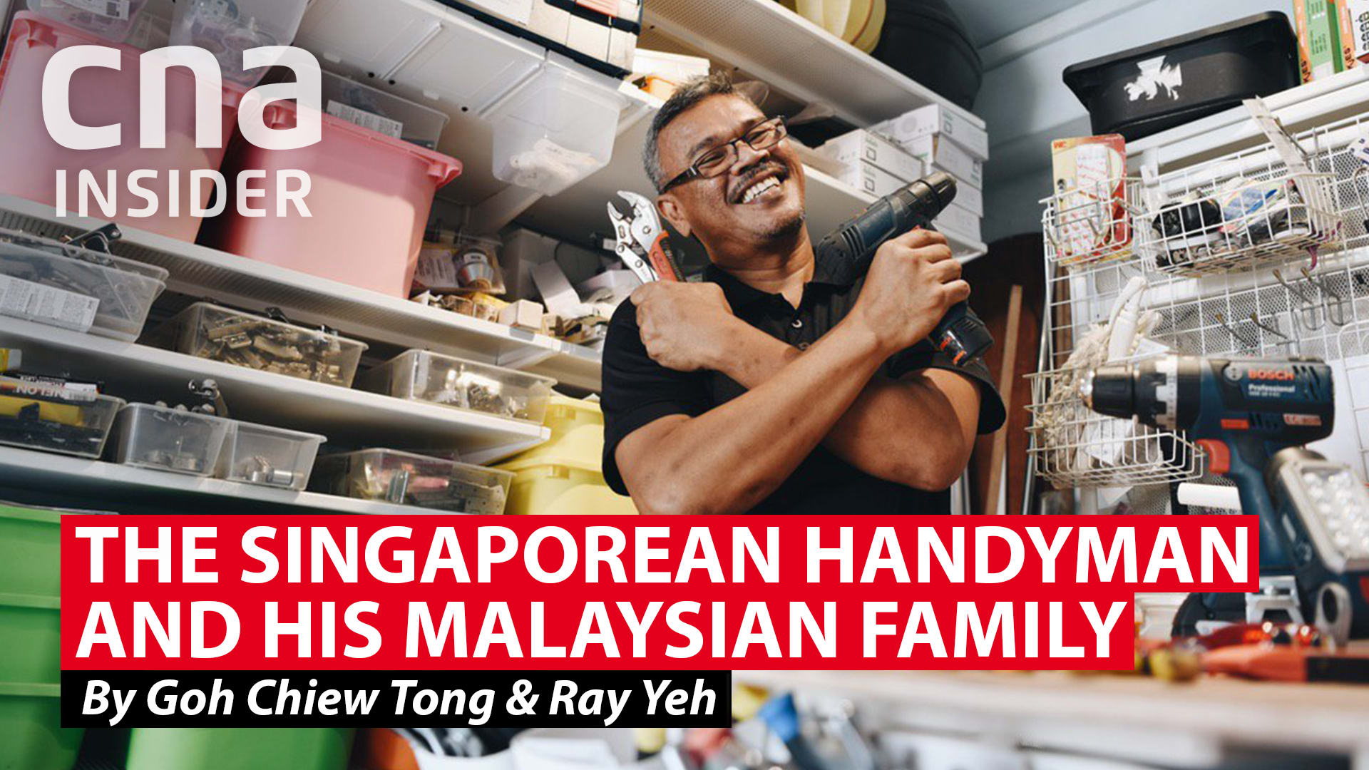 The Singaporean handyman and his Malaysian family