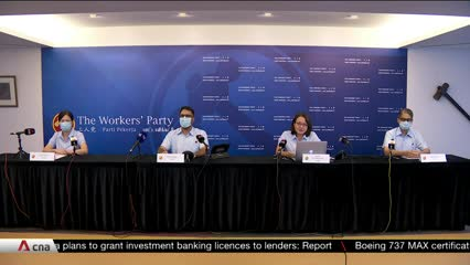 GE2020: Workers' Party launches manifesto with proposals for post-COVID world | Video