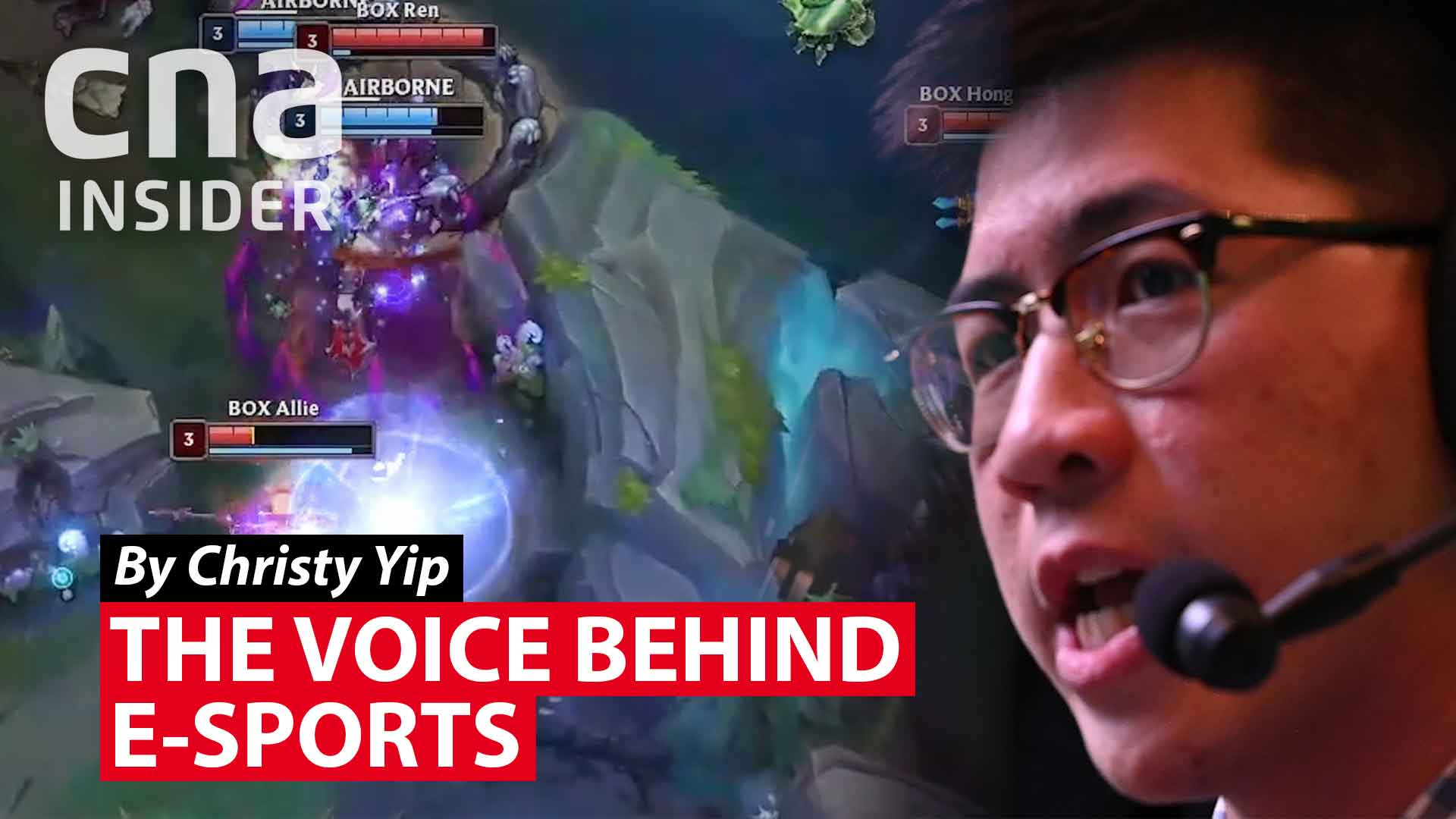 The voice behind e-sports