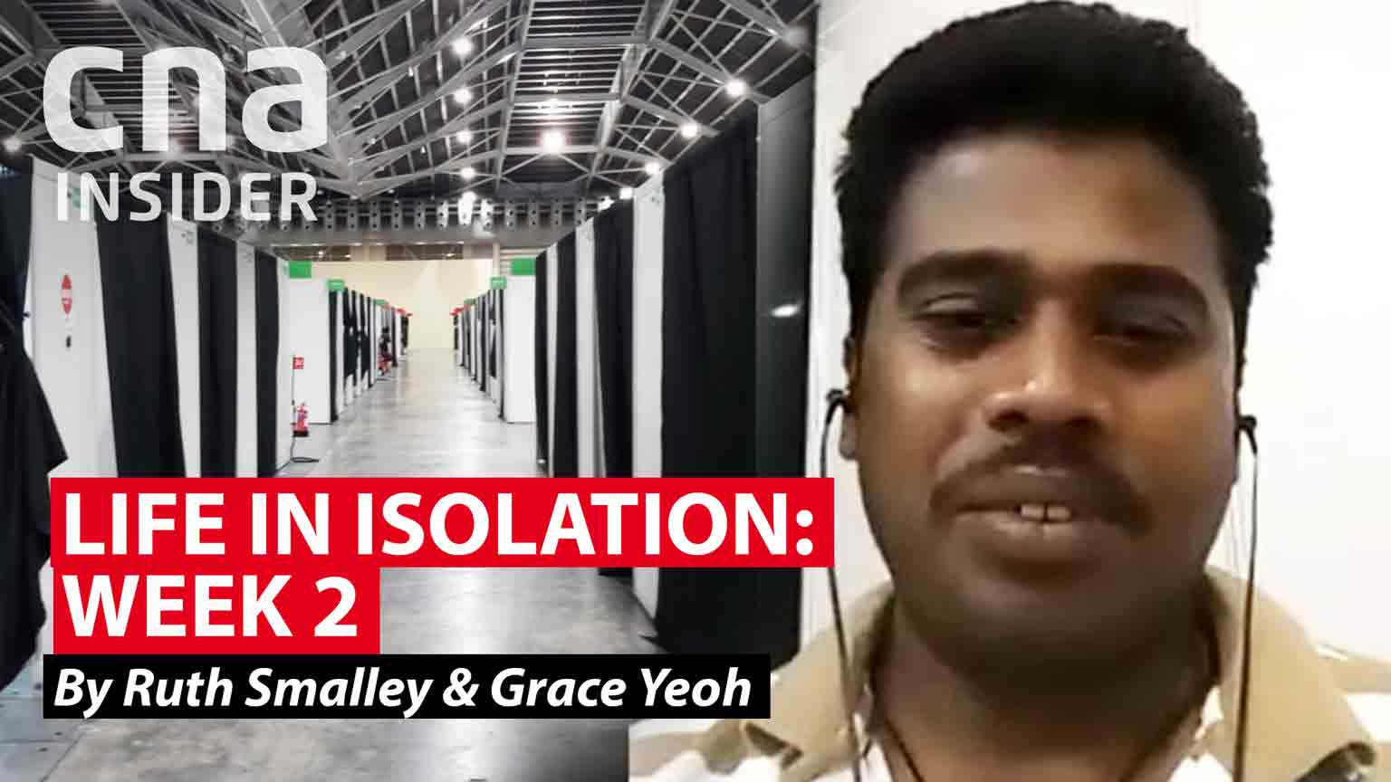 Life in isolation - when a migrant worker gets COVID-19 in Singapore