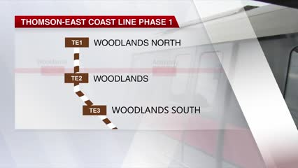 First 3 stations on Thomson-East Coast Line to open by end-January | Video