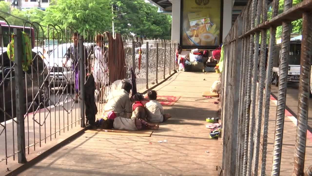 Homeless in Myanmar | Video