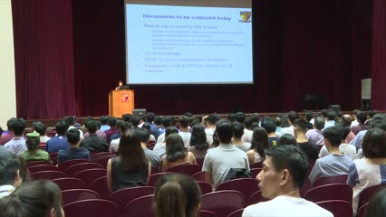 Non-affiliated students to make up at least 20% of next years Secondary 1 intake   Video