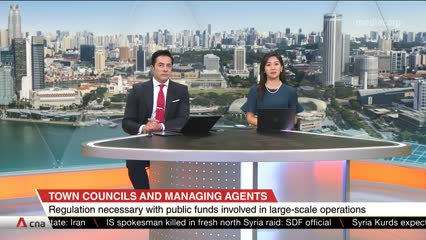 CNA+ Spotlight on town councils and managing agents in Singapore