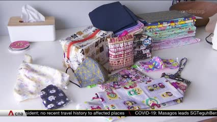 Sewing businesses see spike in orders for reusable cloth masks | Video