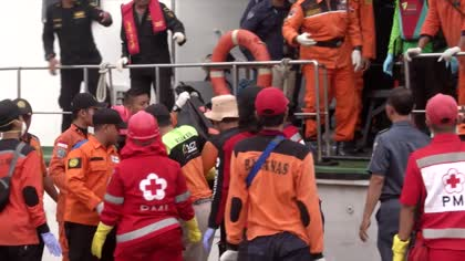 Indonesia believes fuselage of crashed Lion Air plane detected   Video