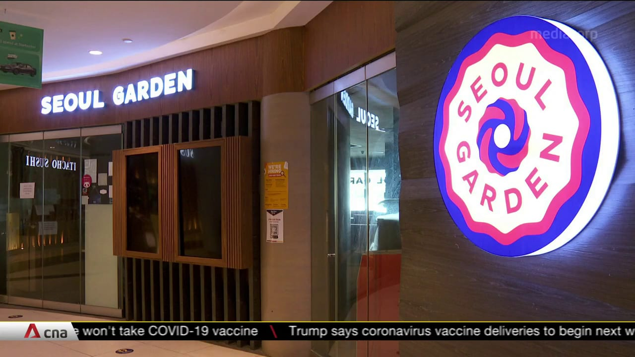 Seoul Garden at Tampines Mall closes for a day after COVID-19 case's dinner with 12 family members | Video