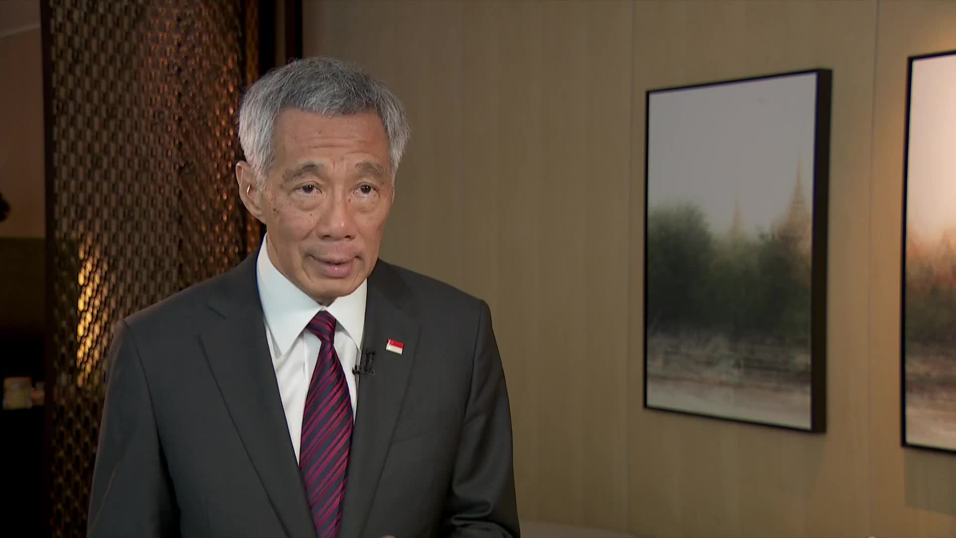 Singapore 'must expect some fallout' from US-China trade dispute: PM Lee | Video