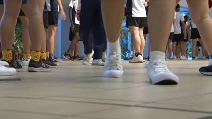 Students start school at merged JCs | Video