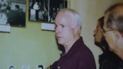 John McCain: Those in Vietnam remember former prisoner of war | Video