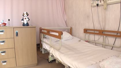 Robots as caregivers at Japan's nursing homes | Video