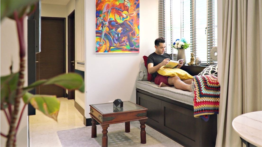A cosy 517 sq ft condo for a busy bachelor | CNA Lifestyle