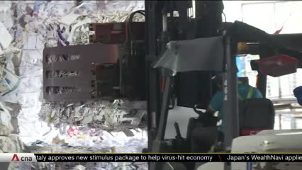 Recycling companies in Singapore face challenges amid COVID-19 | Video