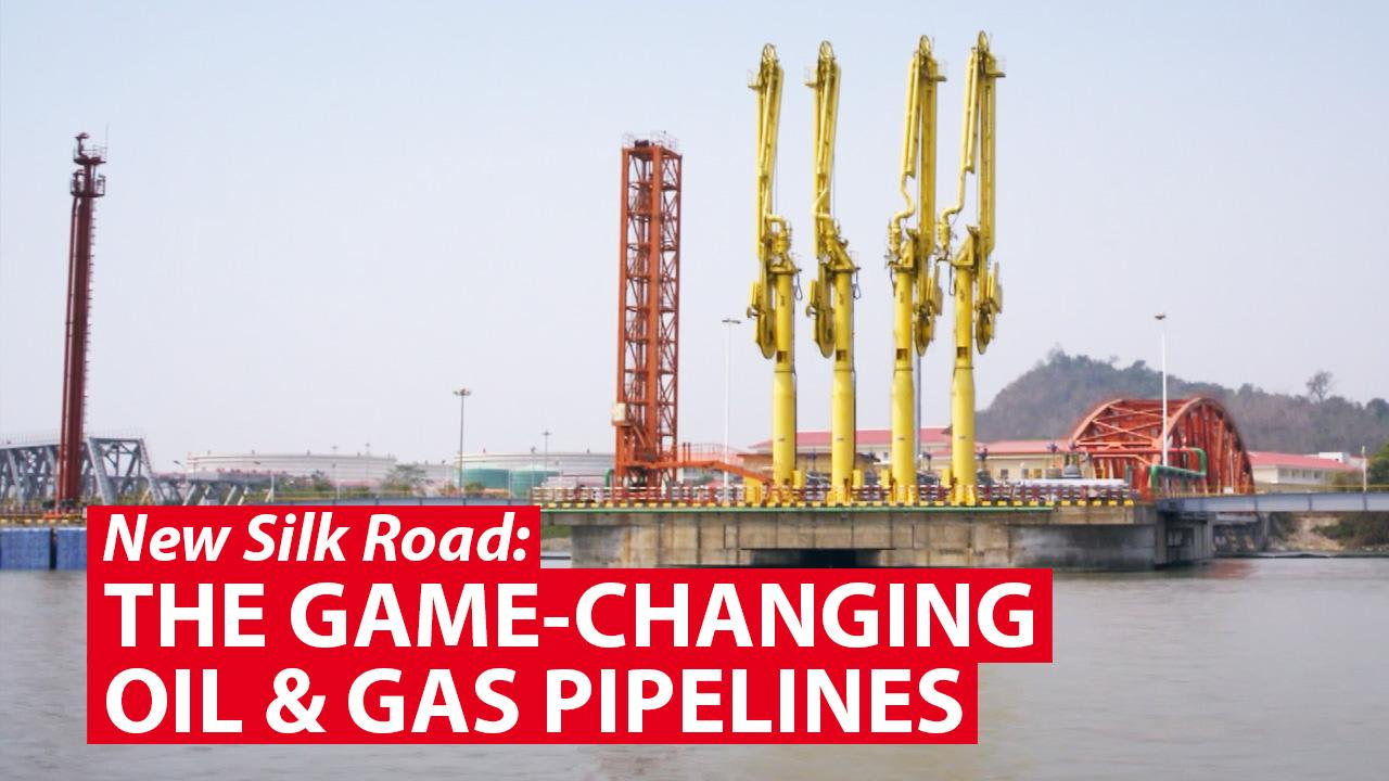 The game-changing oil and gas pipelines in Kyaukphyu, Myanmar