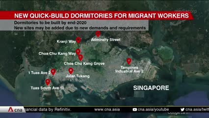 Residents mostly accepting of plans for quick build dormitories | Video