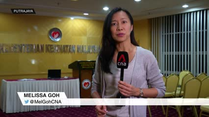 Malaysian Health Minister announces joint working committee with Singapore to tackle novel coronavirus | Video