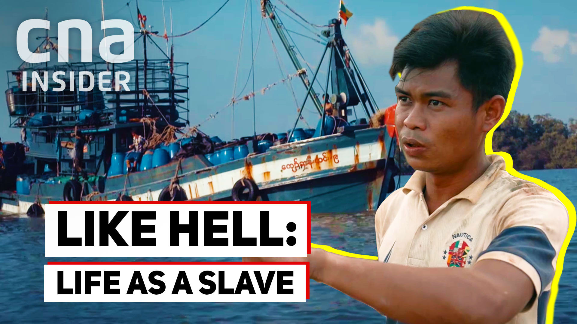 5 Years as a slave on Thai fishing boats