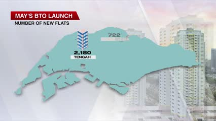 HDB launches 6,753 new flats in May sales exercise | Video