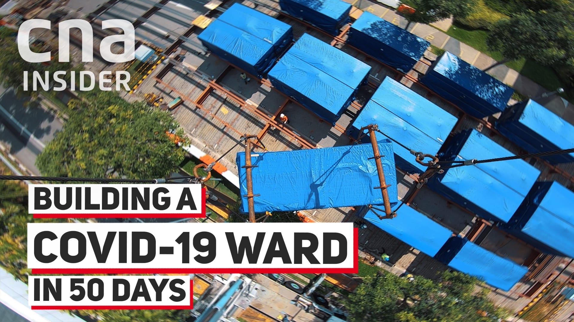 Building a COVID-19 ward in 50 days