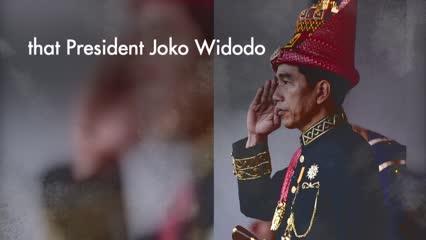 Joko Widodo, Indonesian President