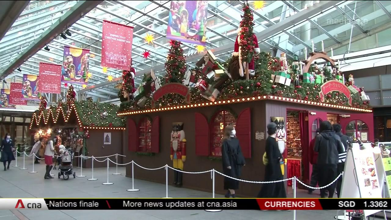 COVID-19 resurgence dampens Christmas in Japan | Video