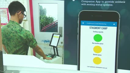SAF showcases digital innovations designed to enhance NS experience | Video