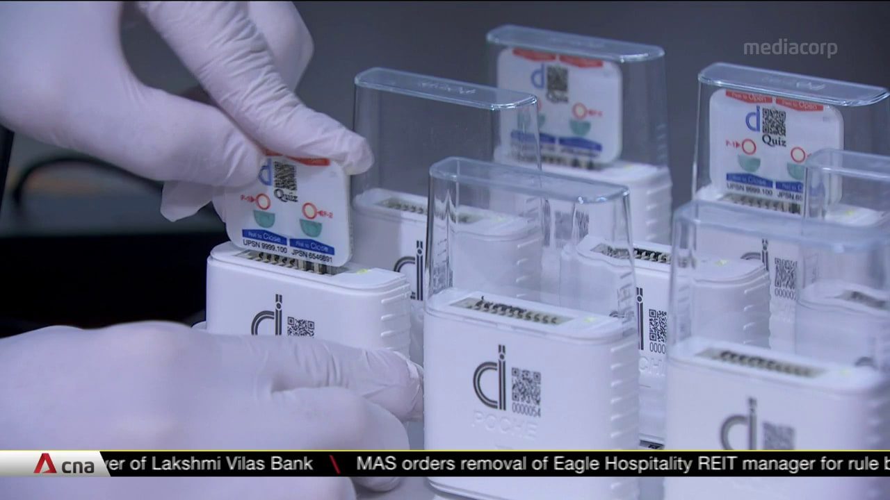 Singapore firm creates portable COVID-19 test that can produce results in 5 minutes | Video