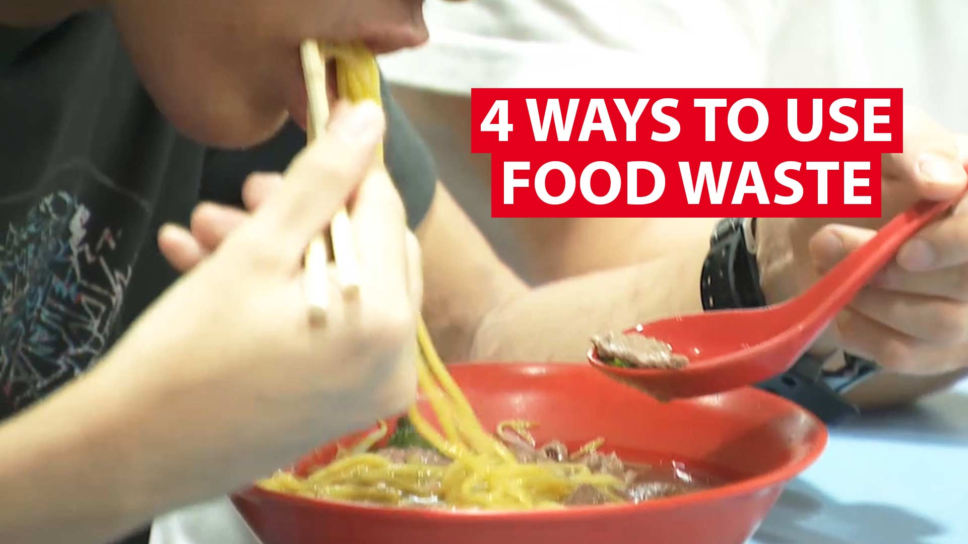 4 ways to put food waste back into good use