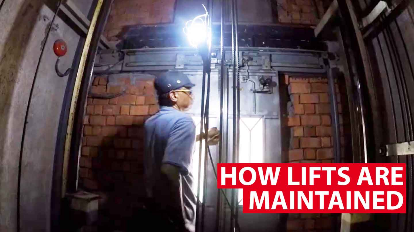 How HDB lifts are maintained
