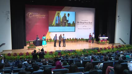 More than 500 students recognised at SINDA Awards | Video