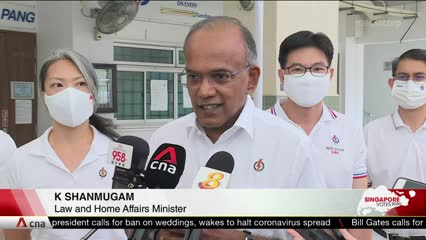 Clear messages sent by voters in GE2020, 'soul searching and reflection' needed: Shanmugam | Video