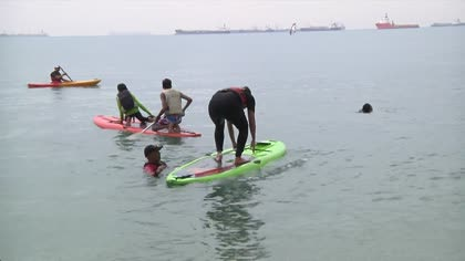 Fun on the water: Singapore's first sea sports programme for the autistic