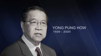 Former chief justice Yong Pung How dies aged 93 | Video