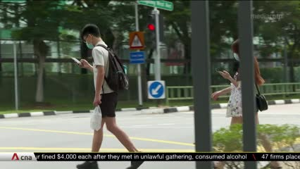 Singapore launches first code of conduct for pedestrians | Video