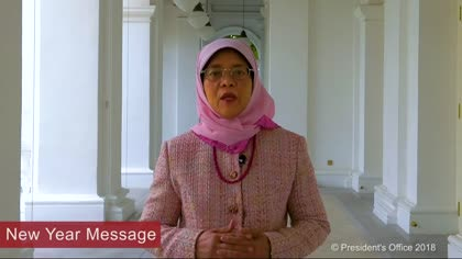 President Halimah Yacob's New Year message | Video