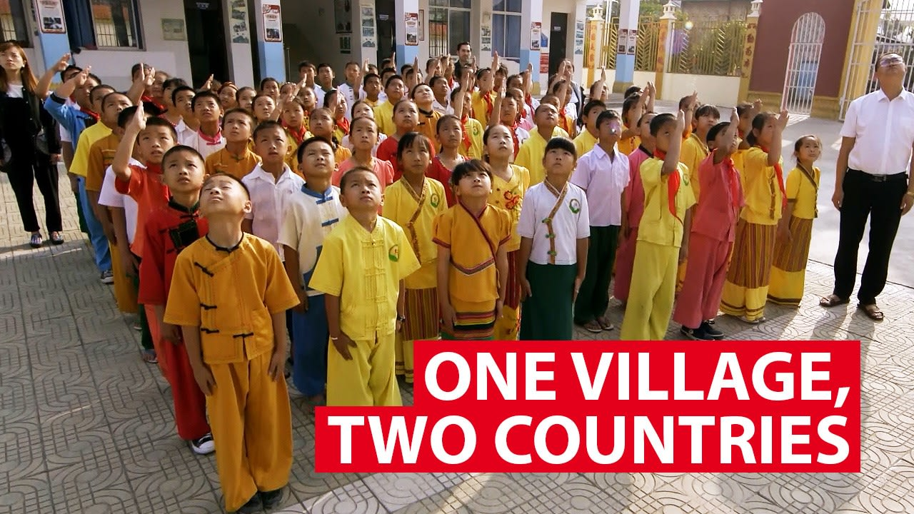 One village, two countries, no border