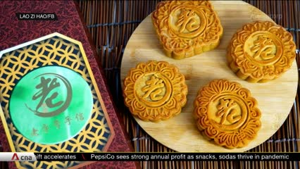 Surge in mooncake orders during festive season after slow first half | Video