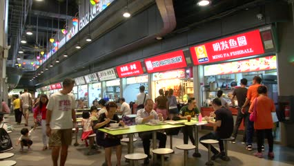 NEA calls for tender to install automated conveyance systems for food waste at Our Tampines Hub hawker centre | Video