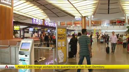 Changi Airport Terminal 2 to suspend operations for 18 months amid COVID-19 pandemic | Video