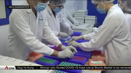 More than 20 companies in Singapore given green light to make COVID-19 test kits | Video