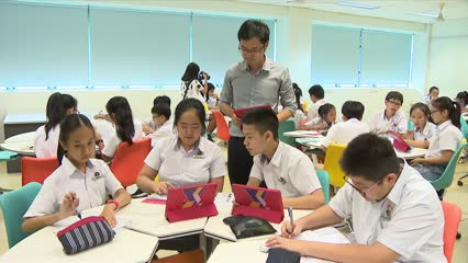 Community support crucial for students to excel in school: PM Lee | Video