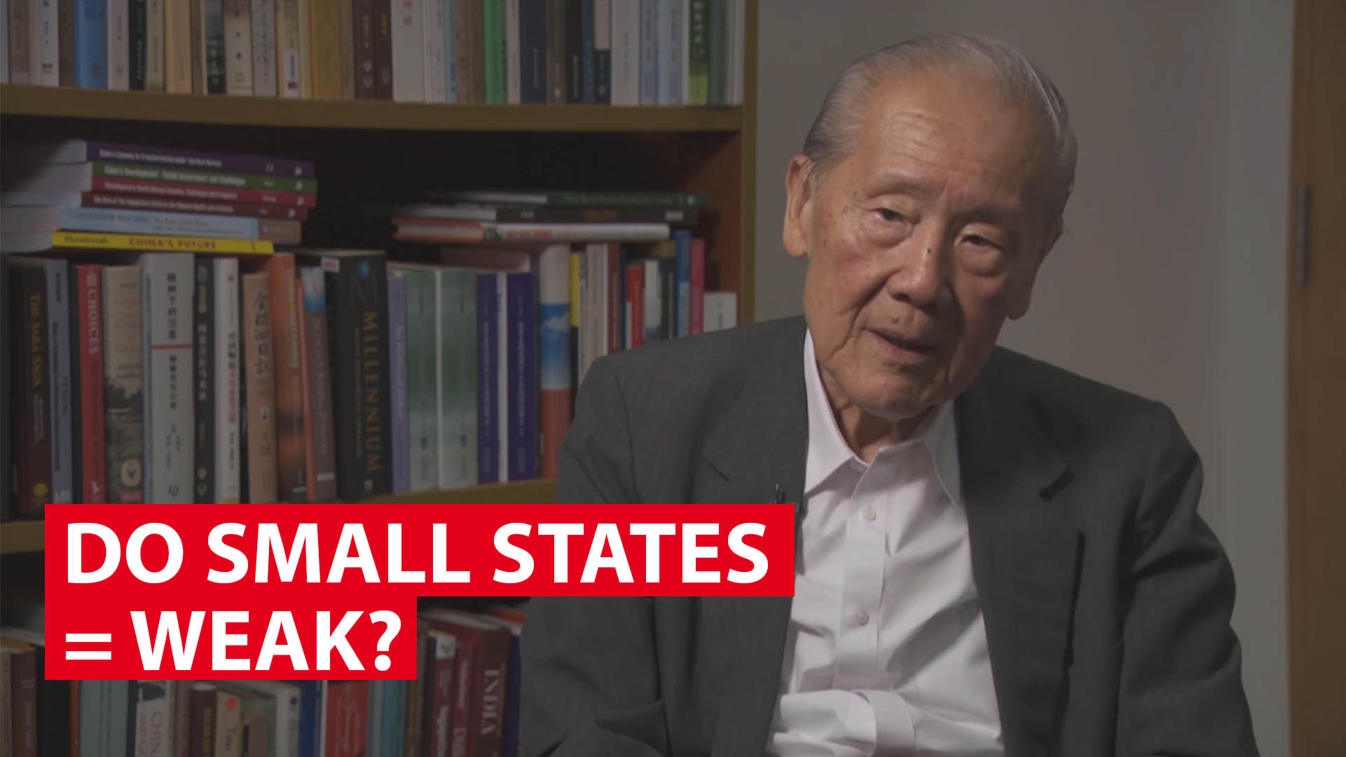 Wang Gungwu: Do small states = weak?