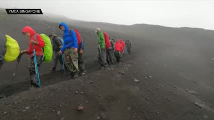 YMCA leads team of special needs individuals to Mount Fuji | Video