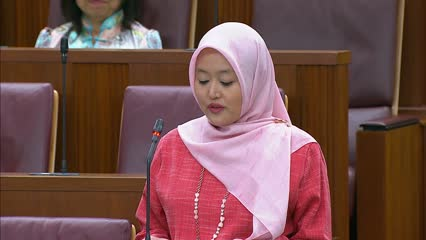 Rahayu Mahzam on Protection from Harassment (Amendment) Bill