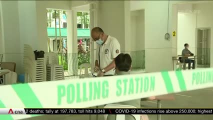 GE2020: Singaporeans to cast their votes at 1,100 polling stations | Video